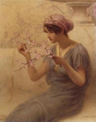 henry ryland - almond blossom 2