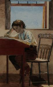 Homer homework 1874 Arcell museum
